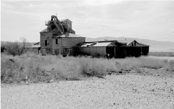 Old Mill in Keeler California