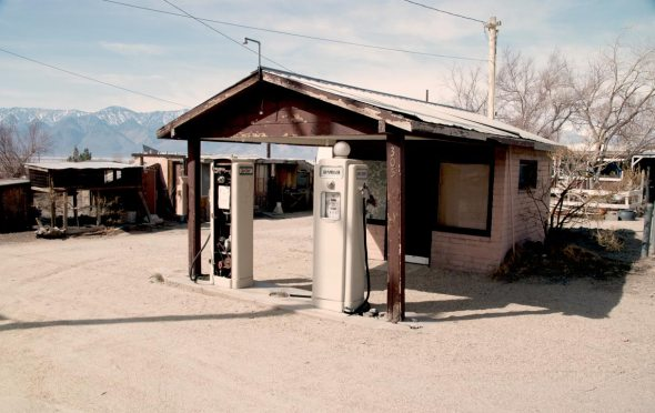 Abandoned Gas Station in Keeler California