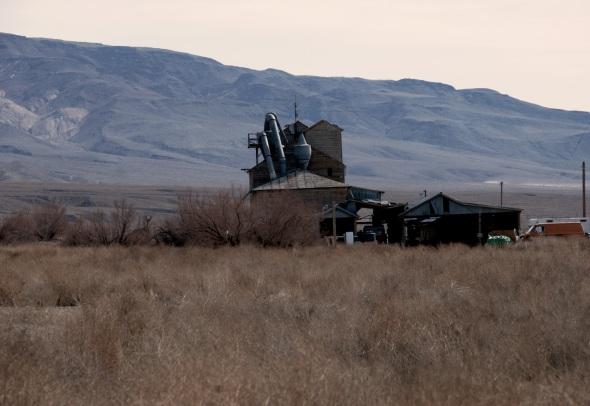 Abandoned Mill in Keeler California