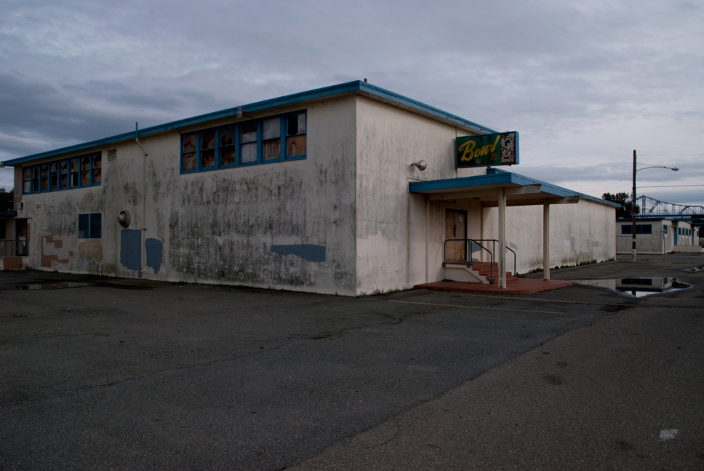 Abandoned Bowling Alley at Treasure Island