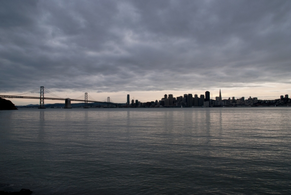 Amazing Views of San Francisco can be seen from Treasure Island